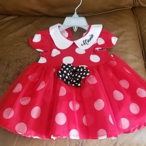 Disney store minnie costume